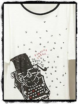 Typewritershirt